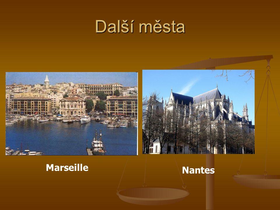 Další města Marseille Nantes