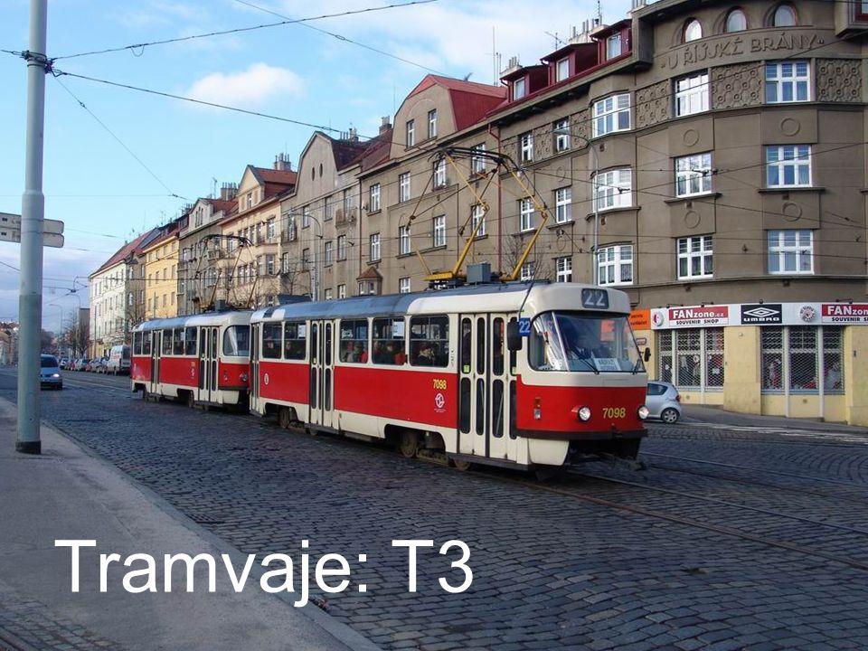 Tramvaje: T3