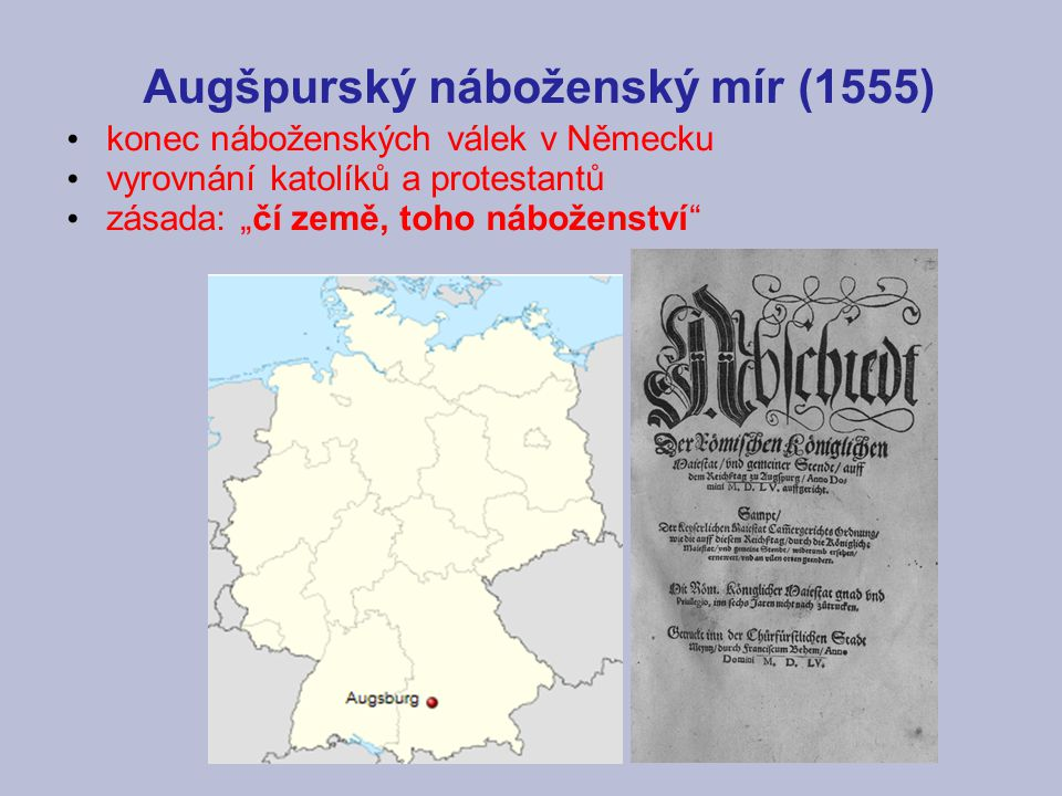 Augšpurský náboženský mír (1555)