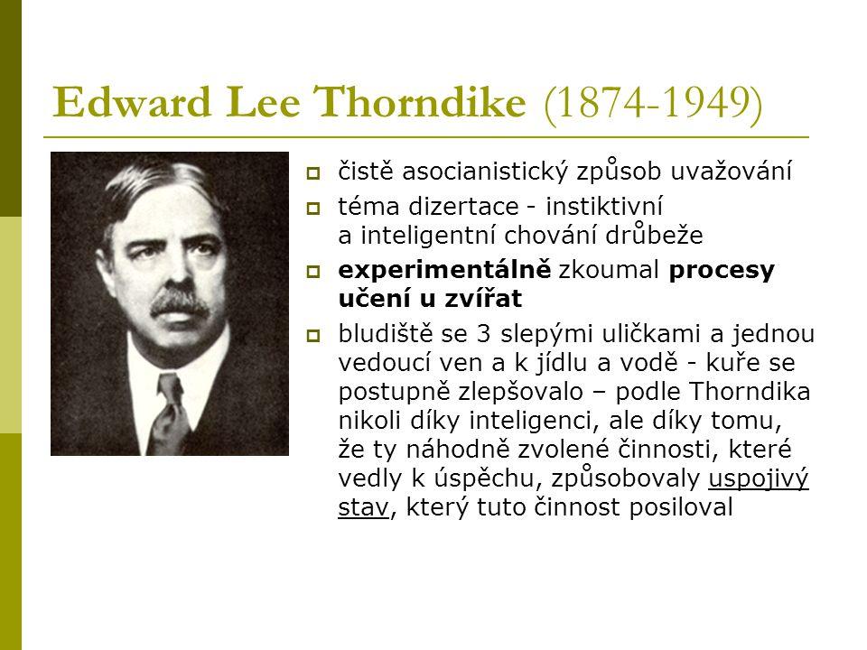 Edward Lee Thorndike (1874-1949)