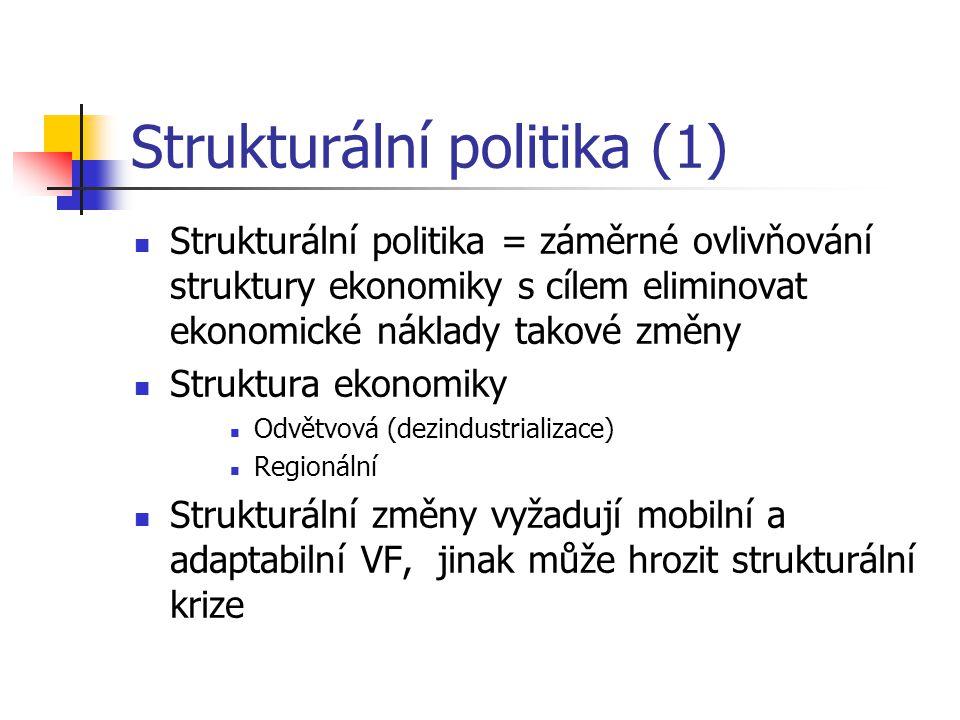 Strukturální politika (1)