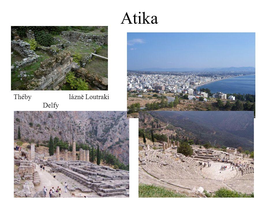 Atika Théby lázně Loutraki Delfy