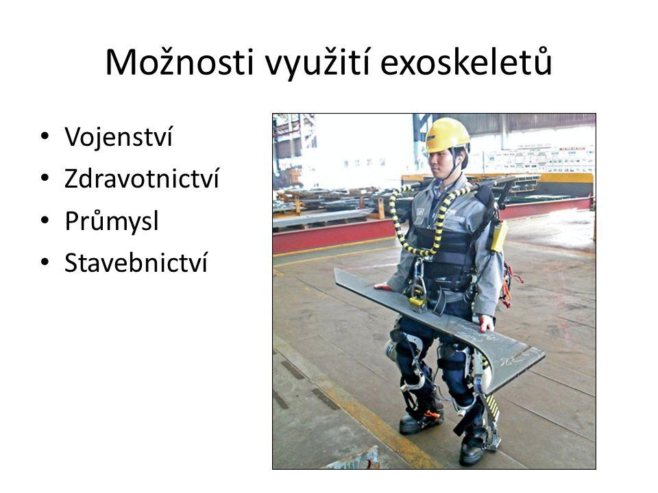Možnosti využití exoskeletů