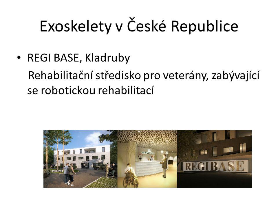 Exoskelety v České Republice