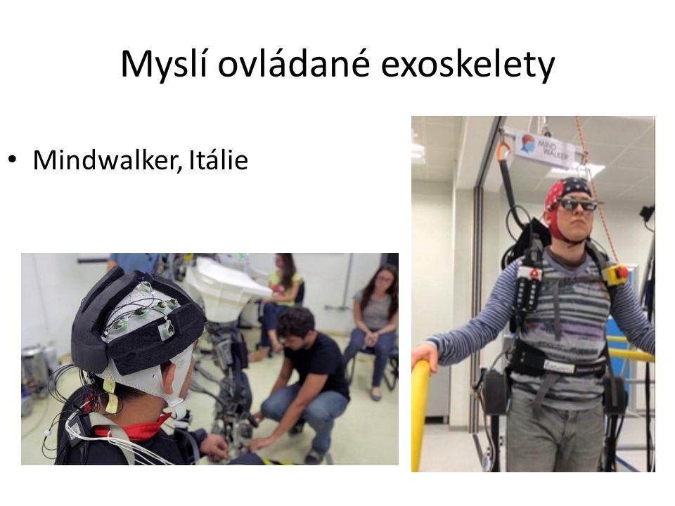 Myslí ovládané exoskelety
