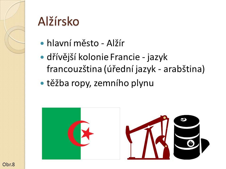 Alžírsko hlavní město - Alžír