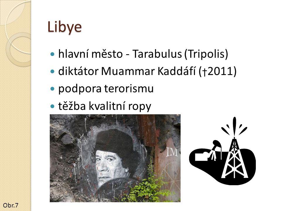 Libye hlavní město - Tarabulus (Tripolis)