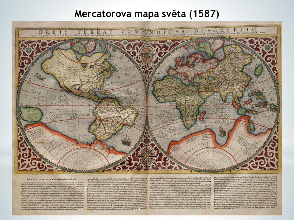 Mercatorova mapa světa (1587)