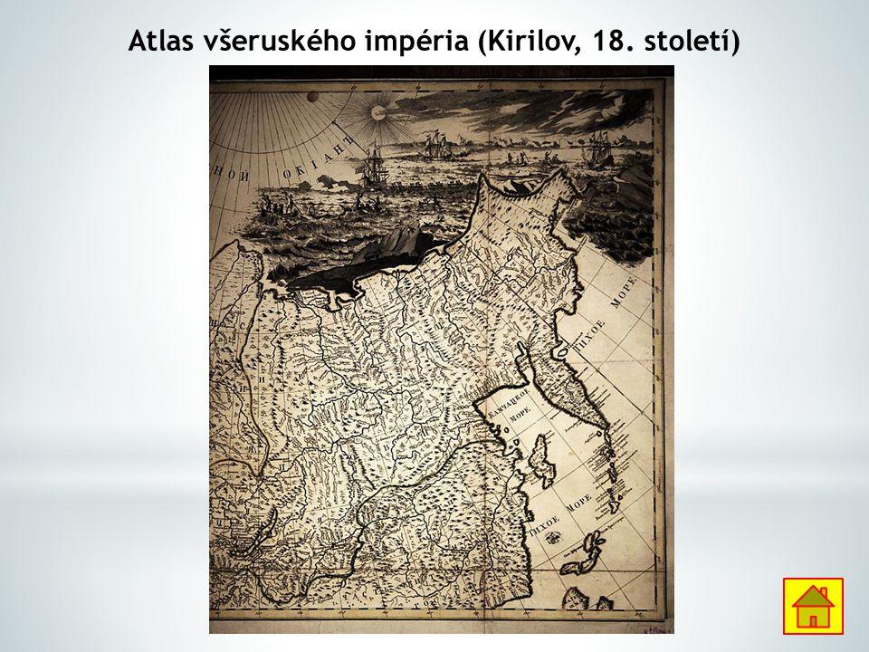 Atlas všeruského impéria (Kirilov, 18. století)