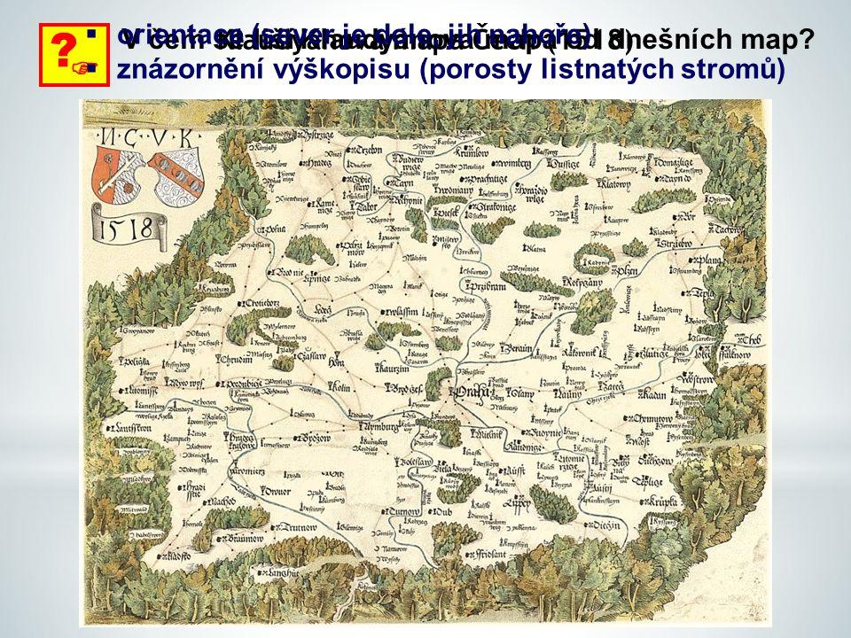 Klaudyánova mapa Čech (1518)