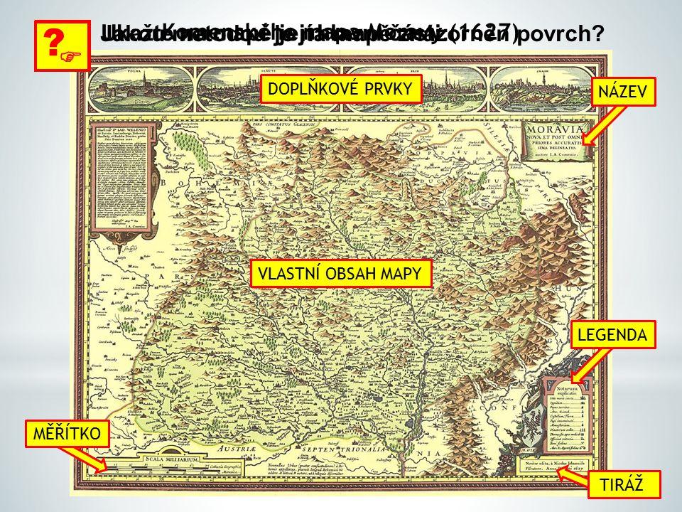 Komenského mapa Moravy (1627)