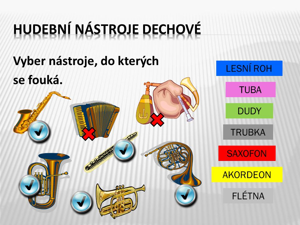 Hudební nástroje dechové