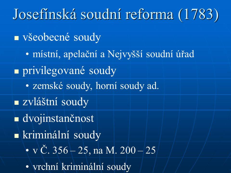 Josefínská soudní reforma (1783)