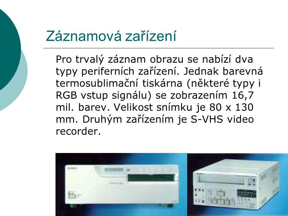 Záznamová zařízení