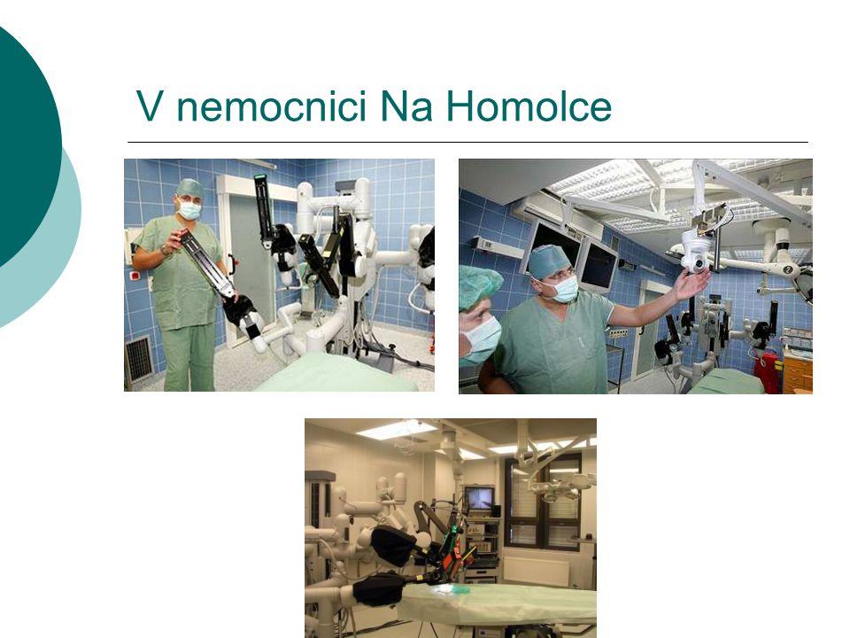 V nemocnici Na Homolce