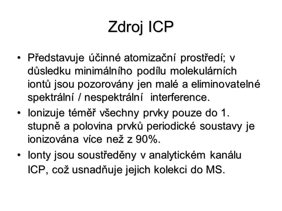 Zdroj ICP