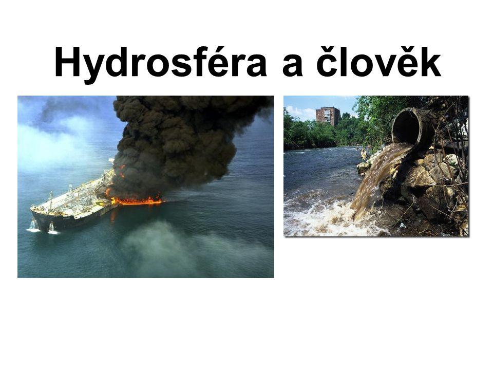 Hydrosféra a člověk