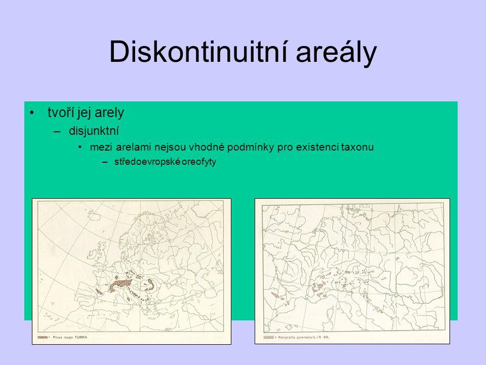 Diskontinuitní areály