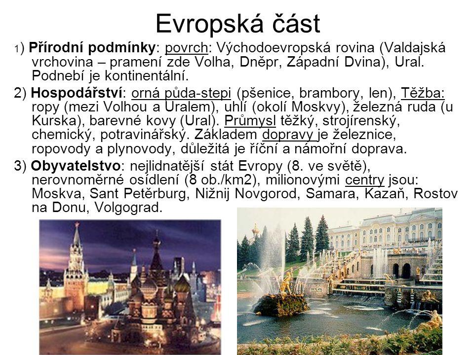 Evropská část