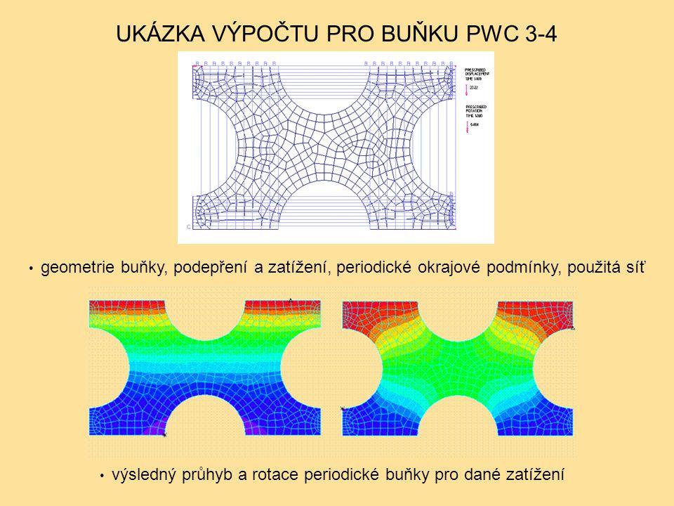 UKÁZKA VÝPOČTU PRO BUŇKU PWC 3-4