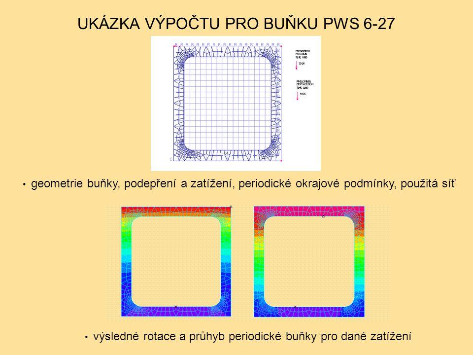 UKÁZKA VÝPOČTU PRO BUŇKU PWS 6-27