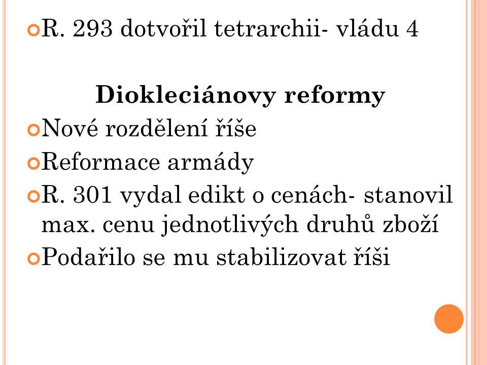Diokleciánovy reformy