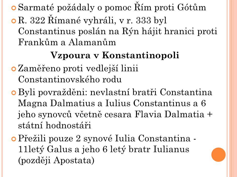 Vzpoura v Konstantinopoli