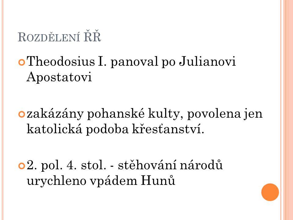 Theodosius I. panoval po Julianovi Apostatovi