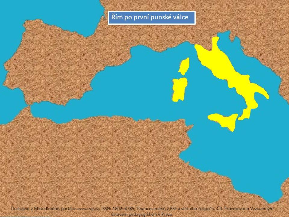 Řím po první punské válce
