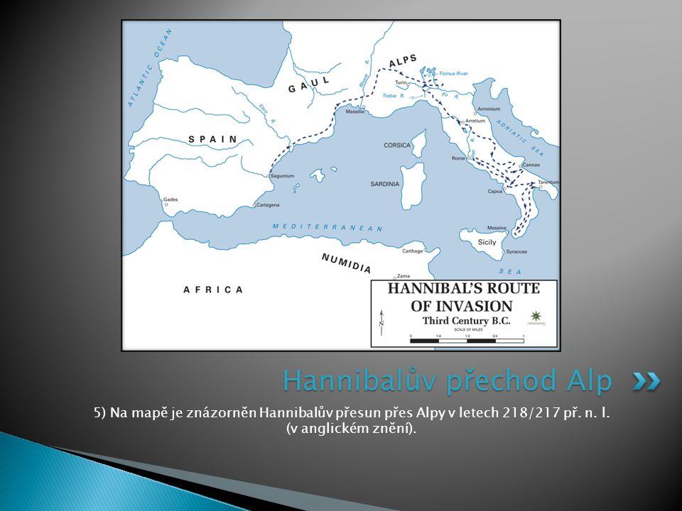 Hannibalův přechod Alp