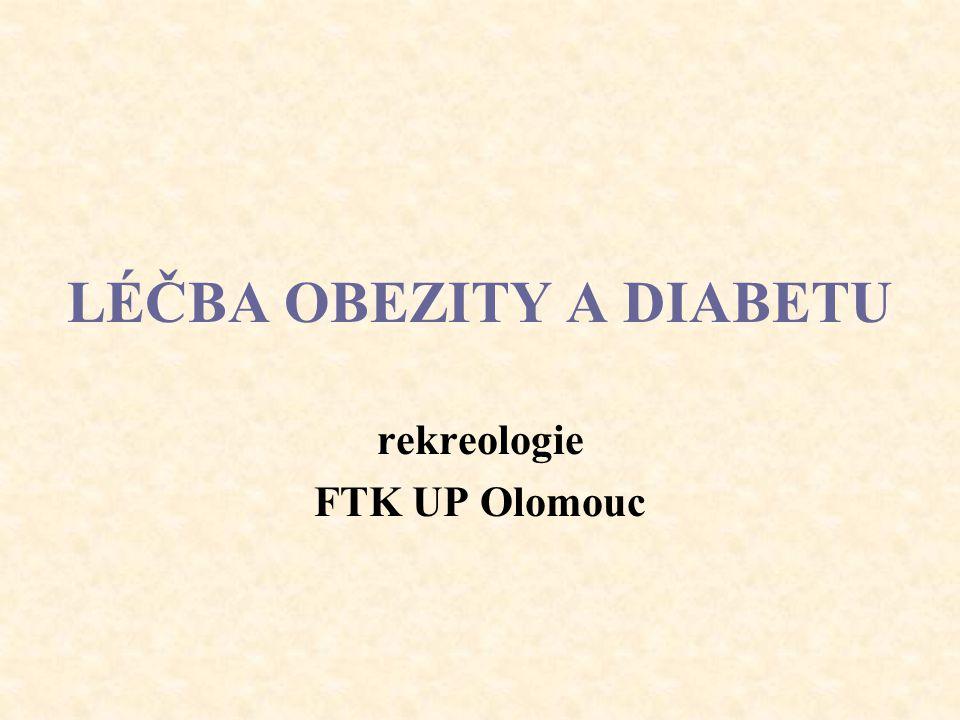 LÉČBA OBEZITY A DIABETU