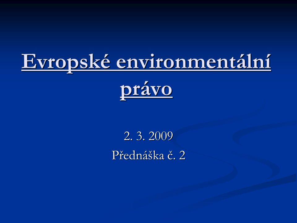 Evropské environmentální právo
