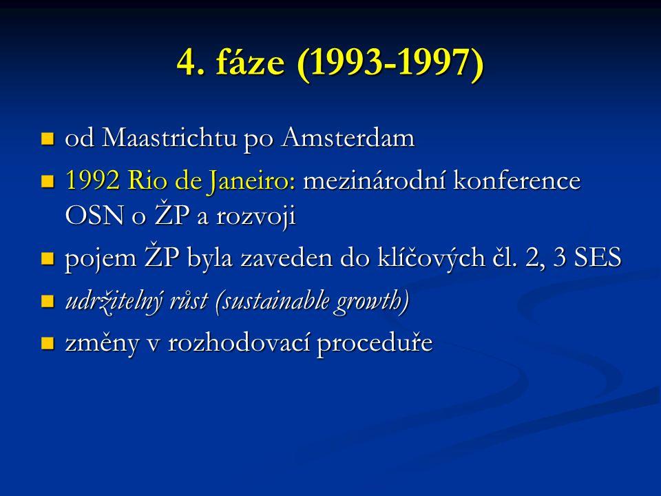 4. fáze (1993-1997) od Maastrichtu po Amsterdam