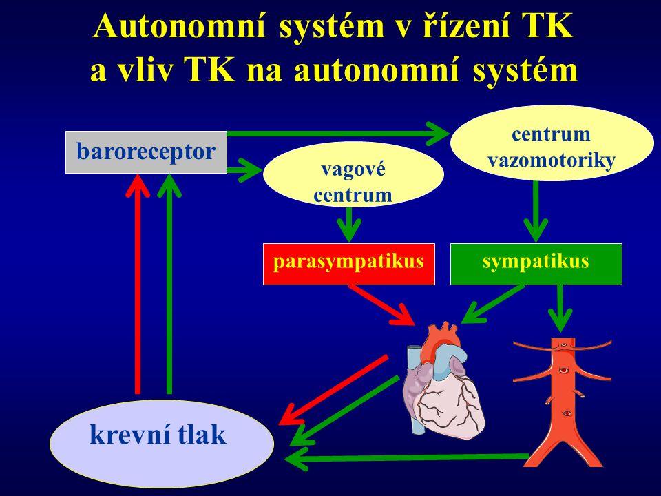 Autonomní systém v řízení TK a vliv TK na autonomní systém