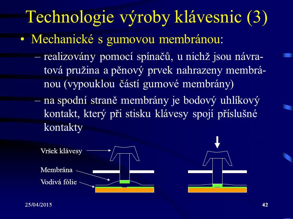 Technologie výroby klávesnic (3)