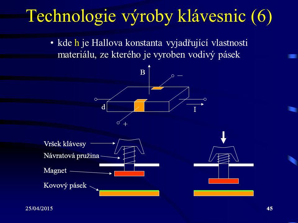 Technologie výroby klávesnic (6)