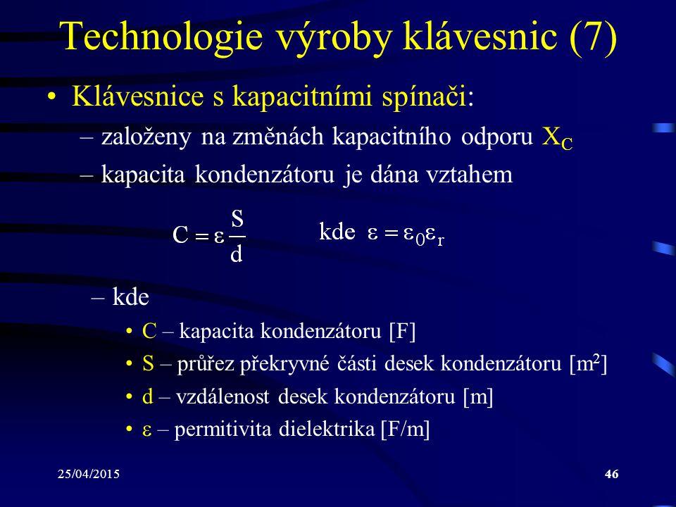 Technologie výroby klávesnic (7)