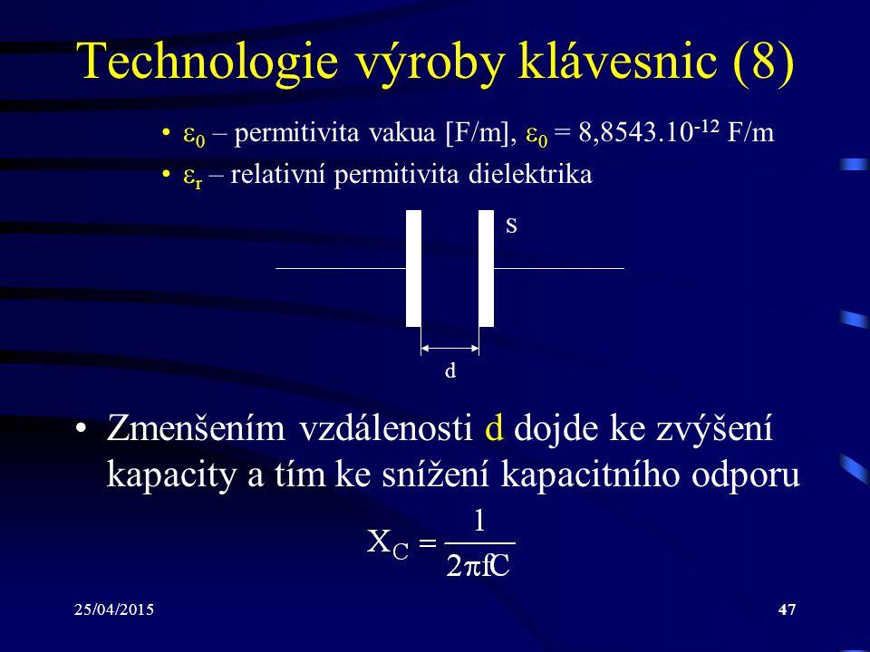 Technologie výroby klávesnic (8)