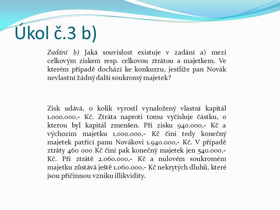 Úkol č.3 b)