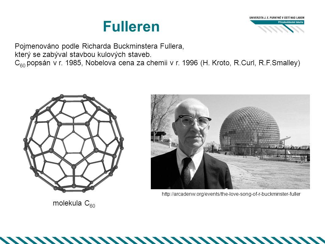 Fulleren Pojmenováno podle Richarda Buckminstera Fullera,