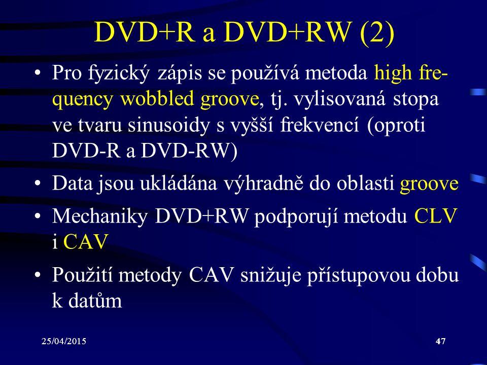 DVD+R a DVD+RW (2)