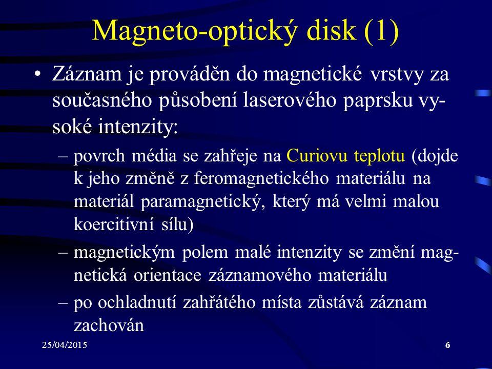 Magneto-optický disk (1)