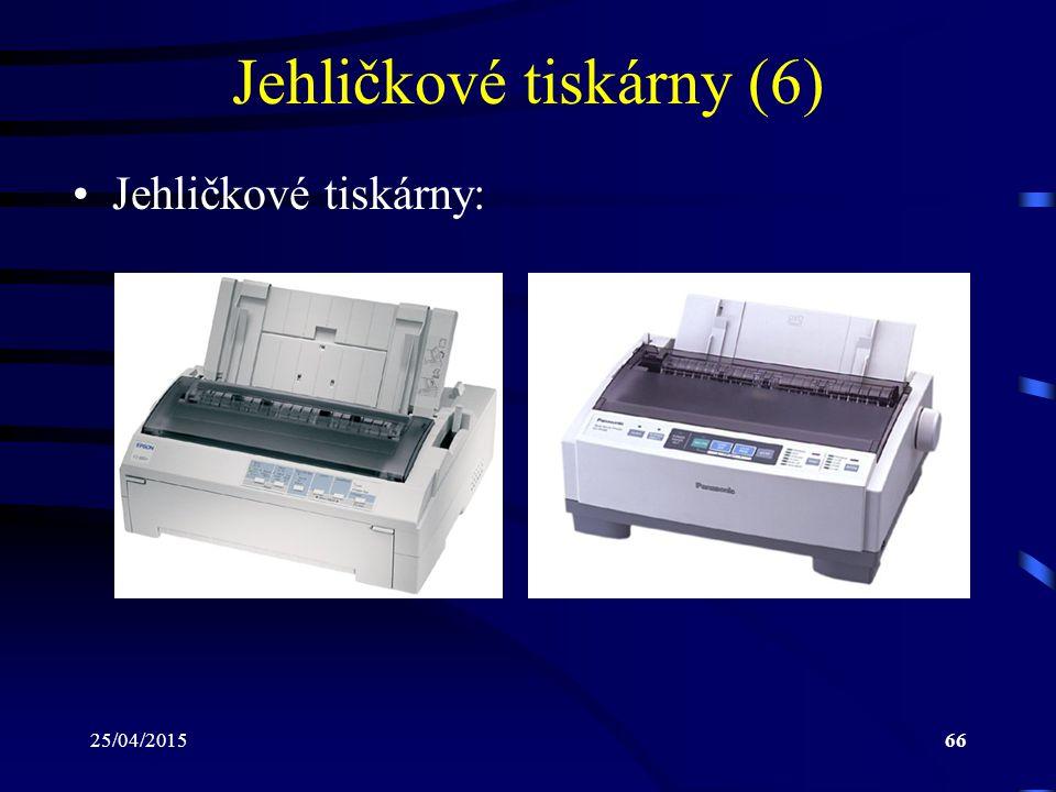 Jehličkové tiskárny (6)