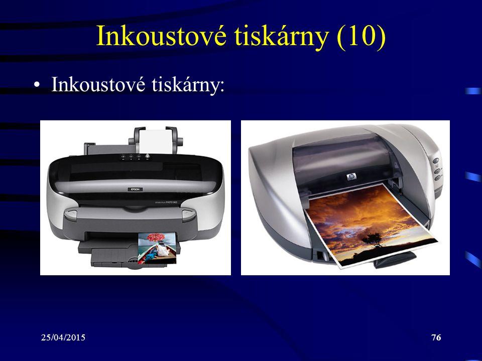 Inkoustové tiskárny (10)
