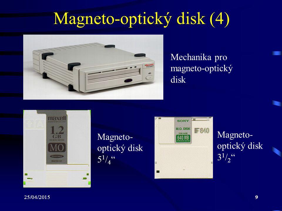 Magneto-optický disk (4)