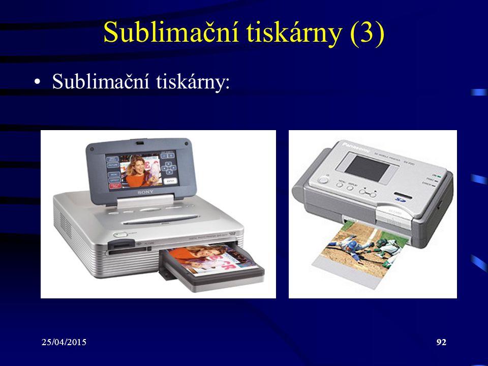 Sublimační tiskárny (3)