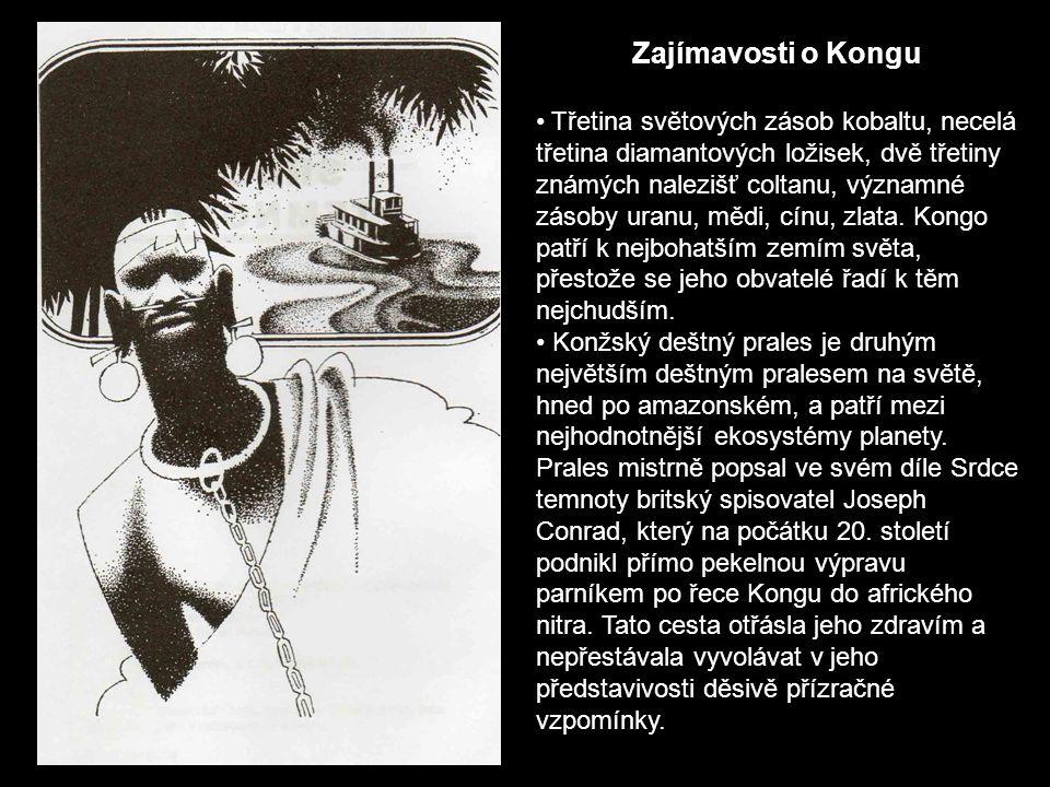 Zajímavosti o Kongu