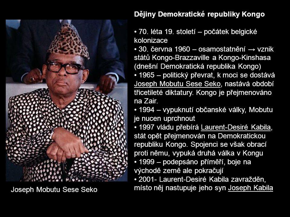 Dějiny Demokratické republiky Kongo