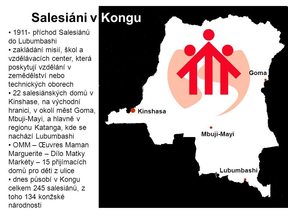 Salesiáni v Kongu 1911- příchod Salesiánů do Lubumbashi