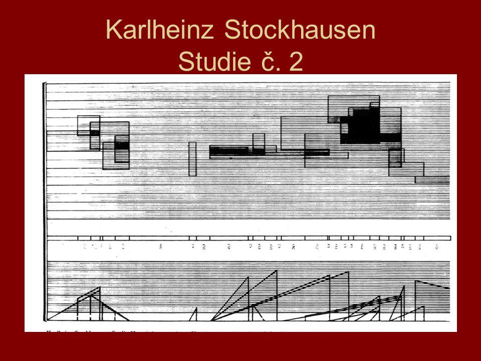 Karlheinz Stockhausen Studie č. 2